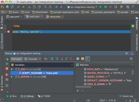 getting started with phpstorm as google app engine php ide getting started with phpstorm as google app engine php ide