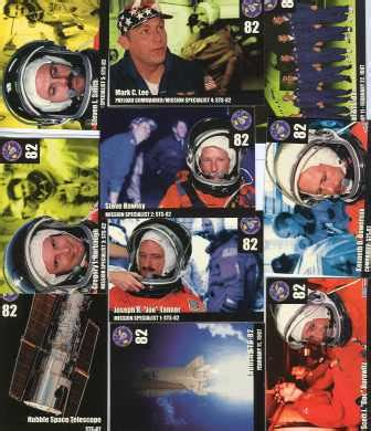 sts for card uk nasa sts 82 set of 10 space shuttle mission cards