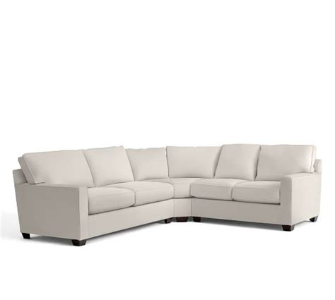 curved wedge sectional sofa buchanan square arm upholstered curved 3 l shaped