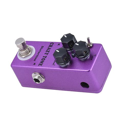 crazy mp mosky mp 50 crazy tone riot distortion mini single guitar