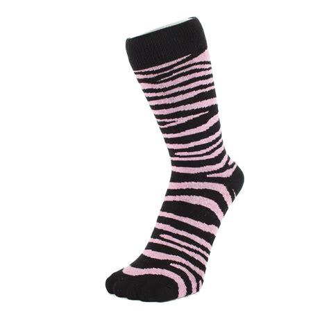 zebra pattern socks zebra print ankle socks size 4 7 ebay