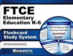 Ftce Elementary Education Flashcards With Ftce Elementary