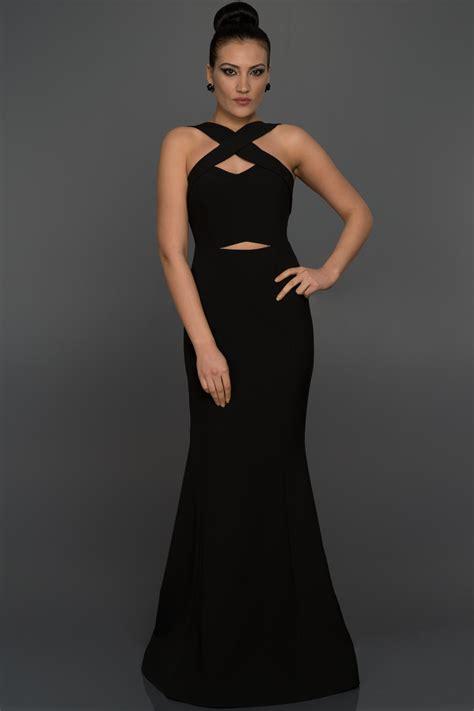 uzun siyah balik abiye elbise  abiyefoncom