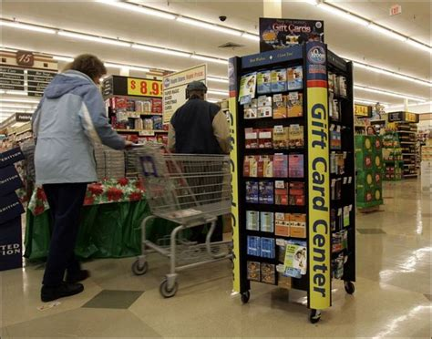 Kroger Gift Card Kiosk - from lowly status to star gift cards expected to draw