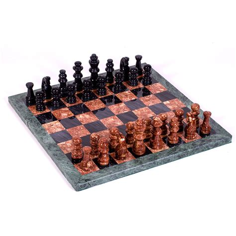marble chess set black and marble chess set product sku j 149277