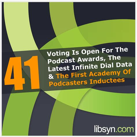 download mp3 from libsyn 041 voting is open for the podcast awards the latest