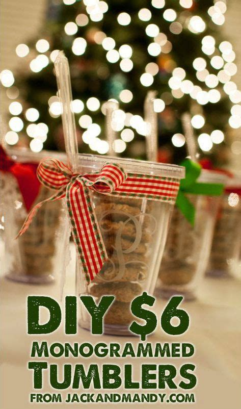 cheap monogrammed tumblers diy monogrammed tumblers a crafty and cheap gift
