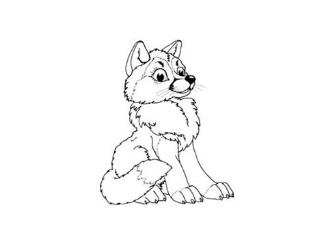 baby wolf coloring pages index of wp content uploads 2012 07