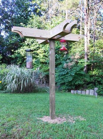 plans  build  deluxe bird feeding station