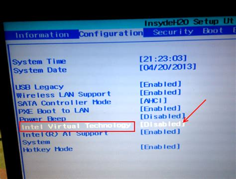 enable intel vt  amd virtualization  pc