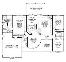 1800 Square Feet Country Style House Plan 3 Beds 2 00 Baths 1800 Sq Ft