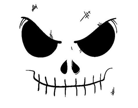 imágenes de jack la calavera dibujo de cara de calavera para colorear dibujos net