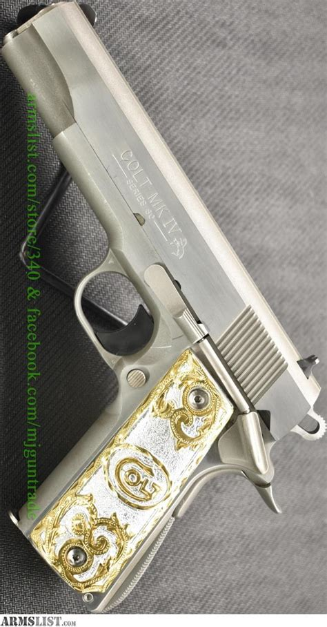 Sale Stop Kran Mj 03 Cabang T armslist for sale used colt 1911 government iv series 80 in 38