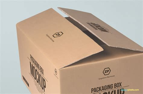mockup design box free packaging box mockup zippypixels