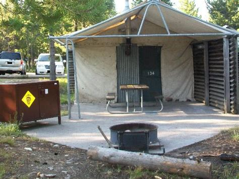 Colter Bay Tent Cabins by Marina Picture Of Colter Bay Grand Teton