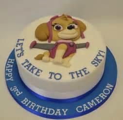 skye paw patrol 2d cut cake children birthday cakes celebration cakes cakeology