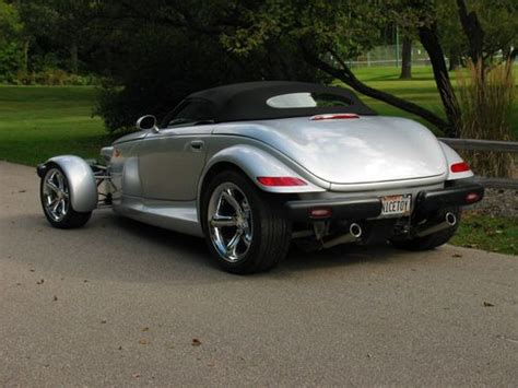 automobile air conditioning repair 2000 plymouth prowler spare parts catalogs sell used 2000 plymouth prowler beautiful silver with black interior in janesville wisconsin
