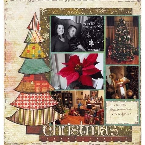 scrapbook layout christmas christmas scrapbook layout scrapbooking pinterest