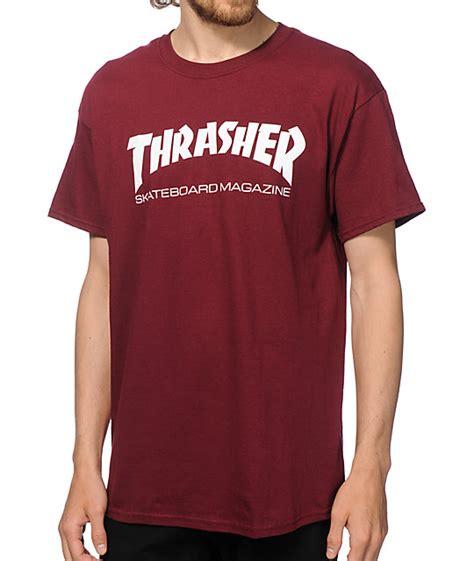 Tshirt I M Skateboard Cloth thrasher skate mag t shirt