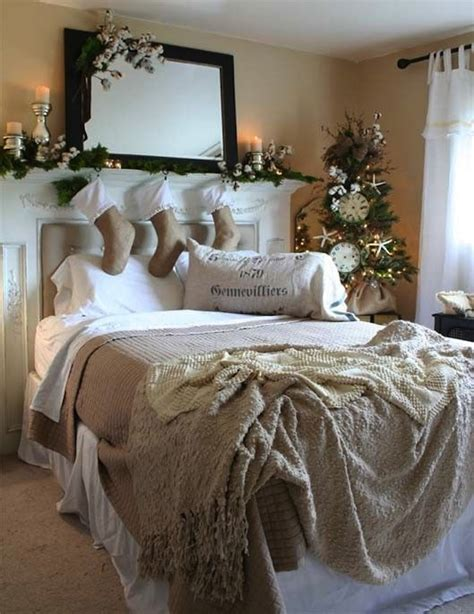 christmas bedrooms 10 country christmas decorating ideas