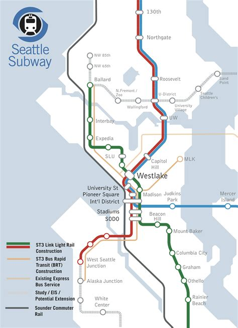 seattle link light rail map seattle light rail map plan afputra com
