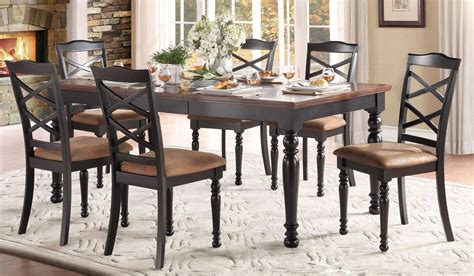 extendable dining sets isleton extendable dining room set from homelegance
