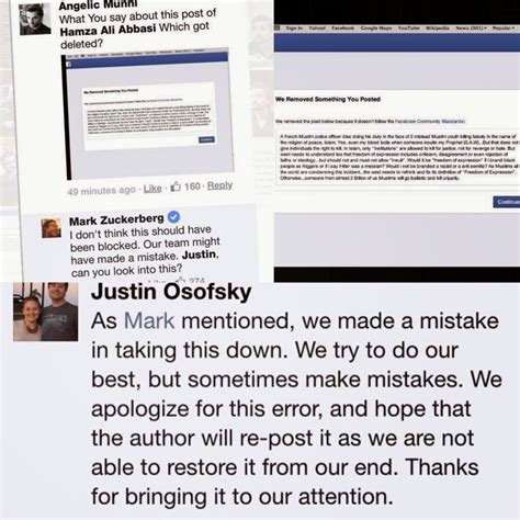 Post It Apologies Excuses Updates by Zuckerberg Excuse To Hamza Ali Abbasi Pyaray Afzal