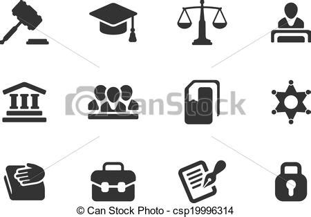 imagenes en blanco y negro de justicia vector clip art de justicia conjunto ley iconos set