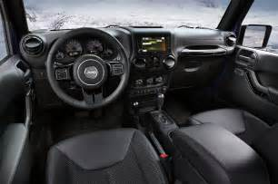 Jeep Interiors by 2016 Jeep Wrangler New Design Features Price And Specs