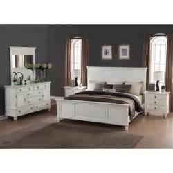 White Bedroom Furniture Set Regitina White 5 Piece Queen Size Bedroom Furniture Set