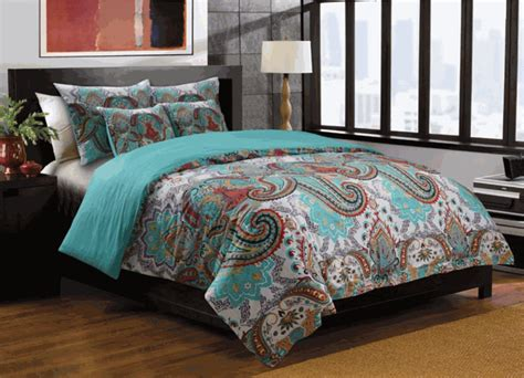 boho bedding sets nirvana teal moroccan boho duvet set