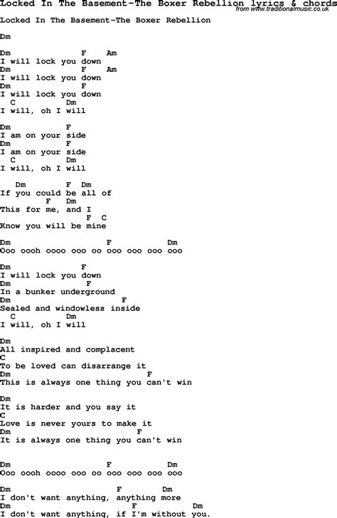 basement lyrics song lyrics for locked in the basement the boxer