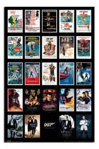 film seri james bond film james bond 007 movie posters inc spectre poster new maxi