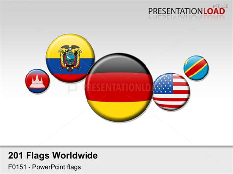 flags of the world round presentationload world flags round buttons