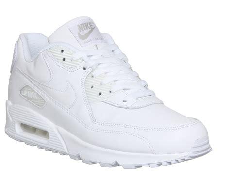 Virda Maxy nike air max 90 white his trainers