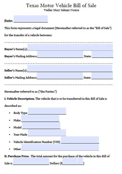 automotive bill of sales auto bill of sale template templates resume