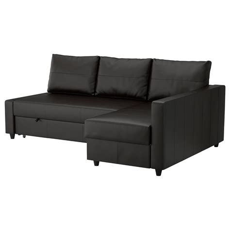 corner lounge with sofa bed chaise friheten corner sofa bed with storage bomstad black ikea