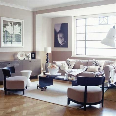 Deco Living Room by Deco Style Muted Pink Living Room Deco
