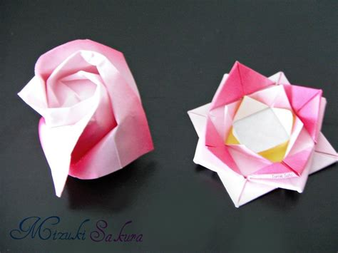 2 types of origami by mizukisakura on deviantart