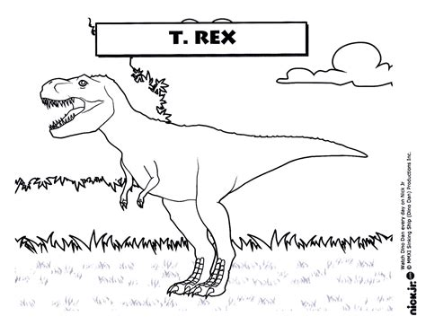 Free Coloring Pages Of Dino Dan Dino Dan Coloring Pages
