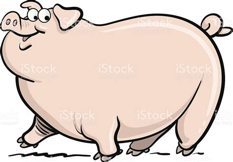pig clipart 1 royalty free stock illustrations vector fat pig stock vector art more images of animal 165960854