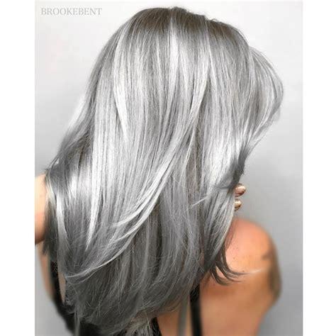 kenra silver metallic hair color shining metallic silver behindthechair