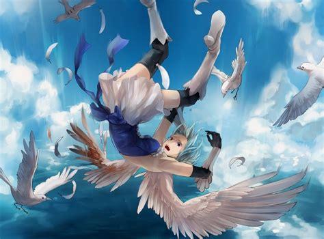 Anime Art Falling Image Result For Anime Girl Falling Anime Pinterest