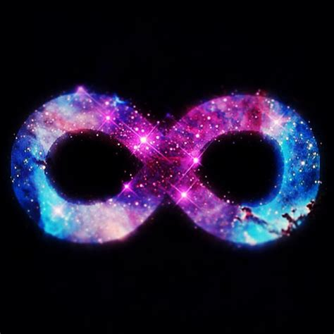 Infinity Universe Infinity Infinite Galaxy Space Universe Cosmos Sky