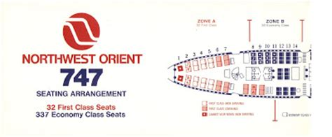 dc10 seating plan airlines past present northwest orient airlines boeing