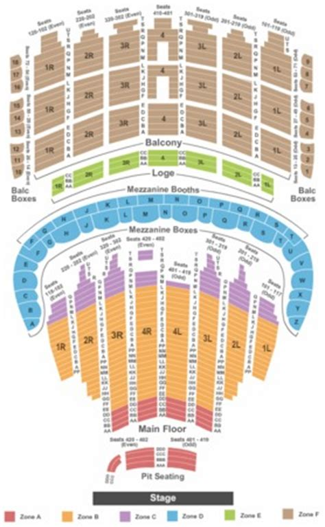 theater chicago seating capacity the chicago theatre tickets in chicago illinois the