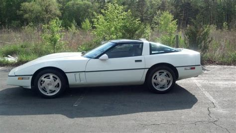 nj 1989 white chevrolet corvette coupe c4 106k auto corvetteforum chevrolet corvette forum
