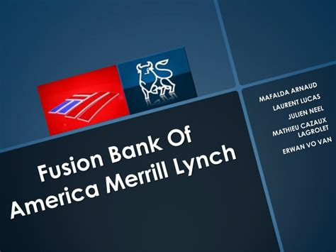 bank of america buys merrill lynch merger between merrill lynch and bank of america
