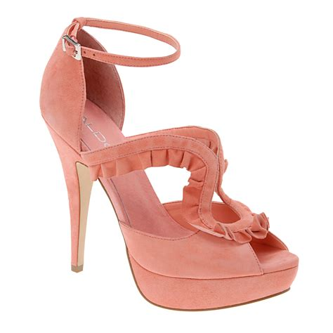 aldo shoes b pink