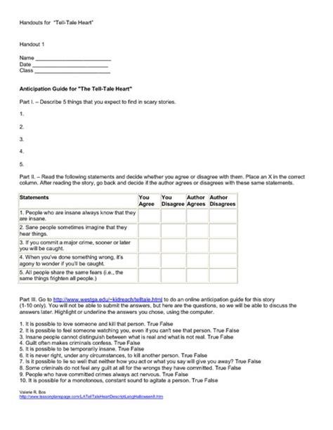 Tell Tale Worksheet by Tell Tale Worksheet Worksheets For School Getadating